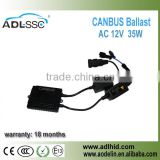 Canbus pro HID xenon 35W digtial slim AC HID ballast for NissanToyota Honda