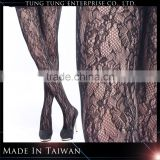 Jacquard black pretty lady lace sexy pantyhose