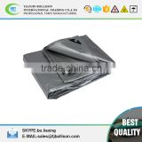 6oz Silver/Black Heavy Duty 8' x 10' Tarp Poly Tarpaulin,Sunshield Silver/Black Tarps