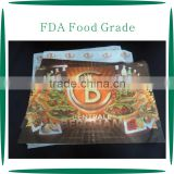 Customized FDA Food Grade Fast Food Paper Tray Liner