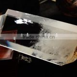 Wholesale nature clear crystal point/wand presents health for decoration