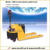 CBD-A Semi-electric Pallet Truck with CE Certificate