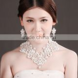 MYLOVE imitation pearl jewelry set for bride wedding women accessory handmade MLT005