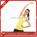 bamboo price loose tank tops wholesale women gym fitness t-shirt create your own brand 92% nylon 8% spandex tank tops