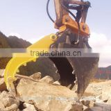 excavator grapple bucket excavator attachment