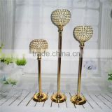 Gold Centerpieces/crystalwedding/decoration/candleholders