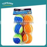 High quality cheap pet training throw ball dog toy tennis balls