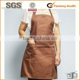 blank hotel receptionist uniform apron made in China