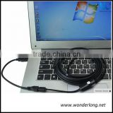 10mm 4LEDS Waterproof Borescope Micro USB Inspection Video Camera for android and PC endoscope pipe inspection camera