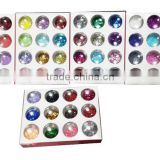 H1-017 60COLORS MIXING GLITTER POWDER