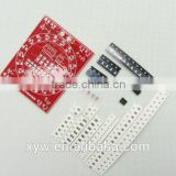 New 2 Sides SMT SMD Electronic Component Welding Practice Board Mini PCB Soldering Skill Training Running Water Light
