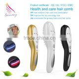 2016 Sunray New Arrival Laser Comb Massager for stimulate hair growth electric scalp stimulator