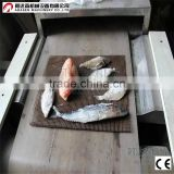 Industrial Continuous Microwave Dryer For Anchovies/Fish Drying Equipment