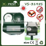 X-pest bell howell VS-3195s defender mega sonic electronic solar animal guard ultrasonic bird trap repeller chaser for fly bat