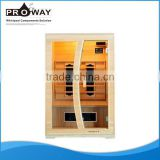 SN-01 New Luxury Good Wood Steam Sauna Room Heat Infrared Sauna