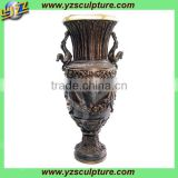 hot sale brass flower vase wholesale for decoration