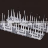 yard Garden deterrent bird enemy PET & PP plastic best anti bird equipment UV resistant stablized bird spikes