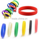 Cheap New Men And Women Sport Silicone Rubber Bracelet Rubber straps Wristband