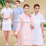 Men Blue Cotton Medical work uniform / Nurse Staff scrub suit design / navy white uniform