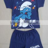 Kids clothing set, boys short pyjama set