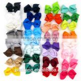 Wholesale children hair accessories Bowknot hairpin hairclips 32 colors for choose