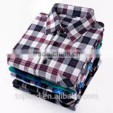 flannel shirt for men clothes new fashion causal shirt for men 100% cotton boys fancy shirts
