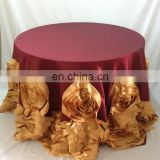 Personalized Custom Fancy Restaurant 120 Round Tablecloth