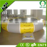 Fun inflatable water trampoline for sale,inflatable trampoline on water,inflatable floating water trampoline