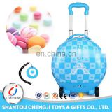 Funny plastic remote control bag travel luggage for kids