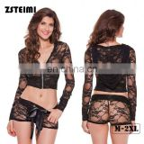 China Manufacturers Professional Odm Black Lace Erotic Lady Lingerie Xxl 2016 Sex Xxl