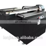 White and black leather uv printer with flexible ink