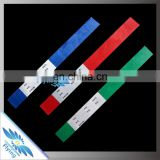 Inkjet printing Promotional Cheap Disposable Waterproof Different Colors Tyvek Wristband for Events