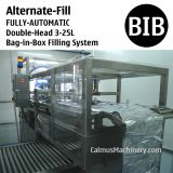 Fully-automatic Alternate-Fill Double-Head WEB Type Bag in Box Filler