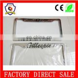 GOC Authorized suppliersale cheap aluminium alloy cars licence plate frame personal BV certification (licence plate-074)