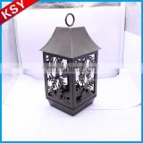 Latest New Design Excellent Quality Lighthouse Metal Table Owl Candle Lantern Holder