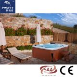 2018 hot sale cheap acrylic outdoor hot tub spa with HDTV
