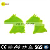 special shape high visibility reflective sticker