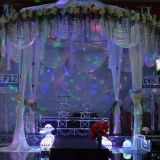 RK wedding pipe and drape chiffon drape for wedding decoration from RK for sale
