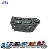 Zhejiang Depehr Heavy Duty European Tractor Body Parts Window Lifter Switch MAN Truck Power Window Switch 81258067045