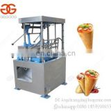 Commercial Semi Automatic Snow Soft Ice Cream Wafer Cone Maker Baking Making Machine Kono Pizza Cone Production Line for Sale