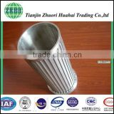 Low pressure differential High strength, very easy to clean, durablel stainless steel wedge filter