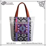 Indian style handmade embroidery beads bag