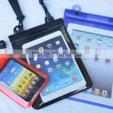 Holiday Drifting Swimming Water Resistant Case For iPad Air Tablet With Lanyard Dry Mobile Phone Bag