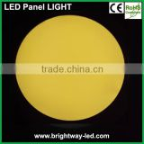 Battery powered 4 inch round led panel light 8W