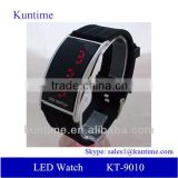 Wholesale China Manufacturer LED Watch Silicon band watch ,12/24-hour Format Selectable,Day/Date/Year Display
