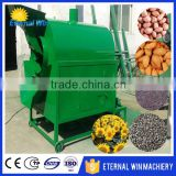 electric heating nut frying automatic pan, seeds roasting equipment for sale