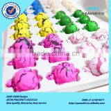 Direct supplier new arriving EVA hatching growing sea turtle egg toys