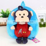 Cute zoo animal china supplier backpacks monkey backpack kids animal bags