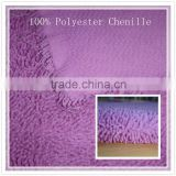 Factory Direct Wholesale small shaggy chenille upholstery fabric with multi-function