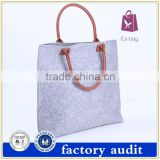 Eco-friendly Fashion Wool Felt Shopping Bag For Sale